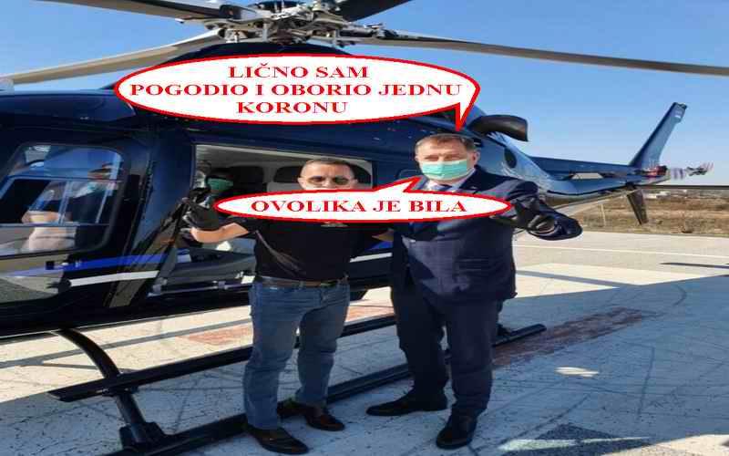 Tuga i jad – Dodik šalje helikoptere u borbu protiv korone